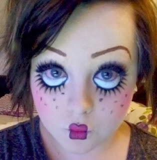 http://todiyornottodiy.blogspot.pt/2013/10/halloween-scary-doll-makeup.html