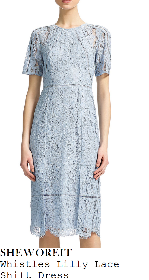 rochelle-humes-light-blue-lace-knee-length-dress-this-morning