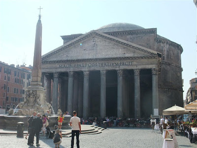 pantheon, rome italy, obelisk