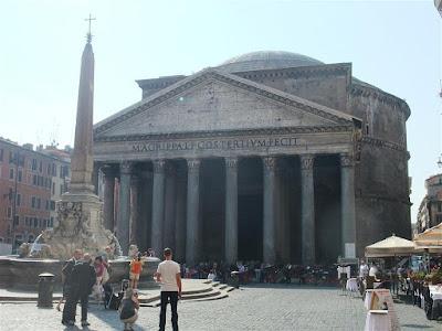 pantheon, rome italy, obelisk