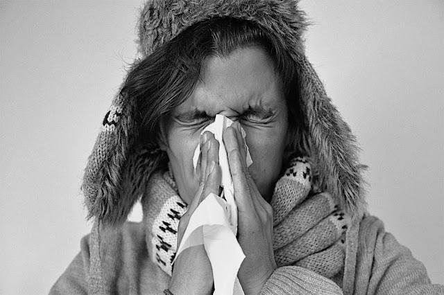 katar, choroba, chusteczka, przeziębienie