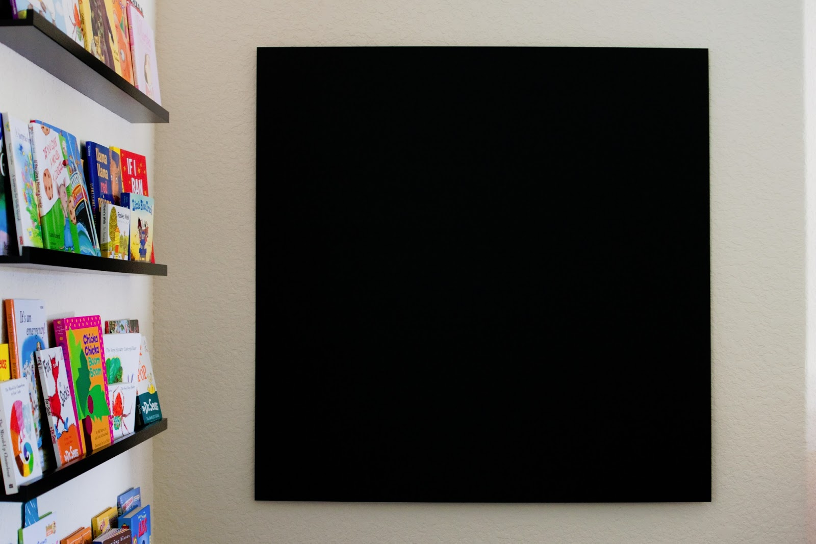 Large Hanging Chalkboard The Sweatman Family How To How Not To Build A Framed Magnetic