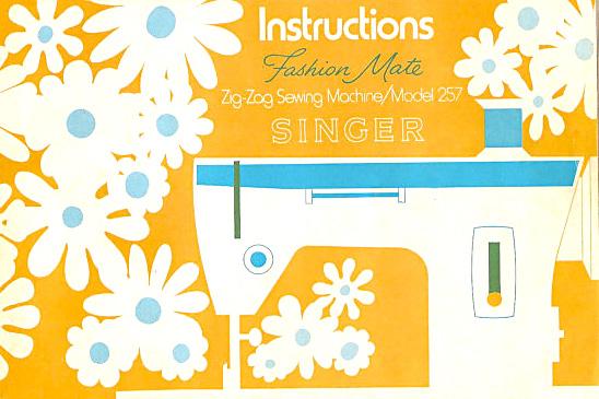 singer fashion mate 252 manual pdf