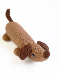 crochet sausage dog pattern