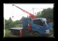 Crane Truck For Rent - Disewakan Truck Crane Colt Diesel Capasitas 3 Ton