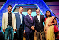 Sachin Tendulkar at the Grand Launch of CCL4!