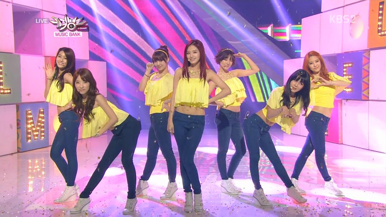 Touch + Tell Me Tell Me @ 130215 KBS Music Bank - Comeback Stage.mkv