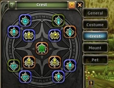 Dragon Nest Crest feature