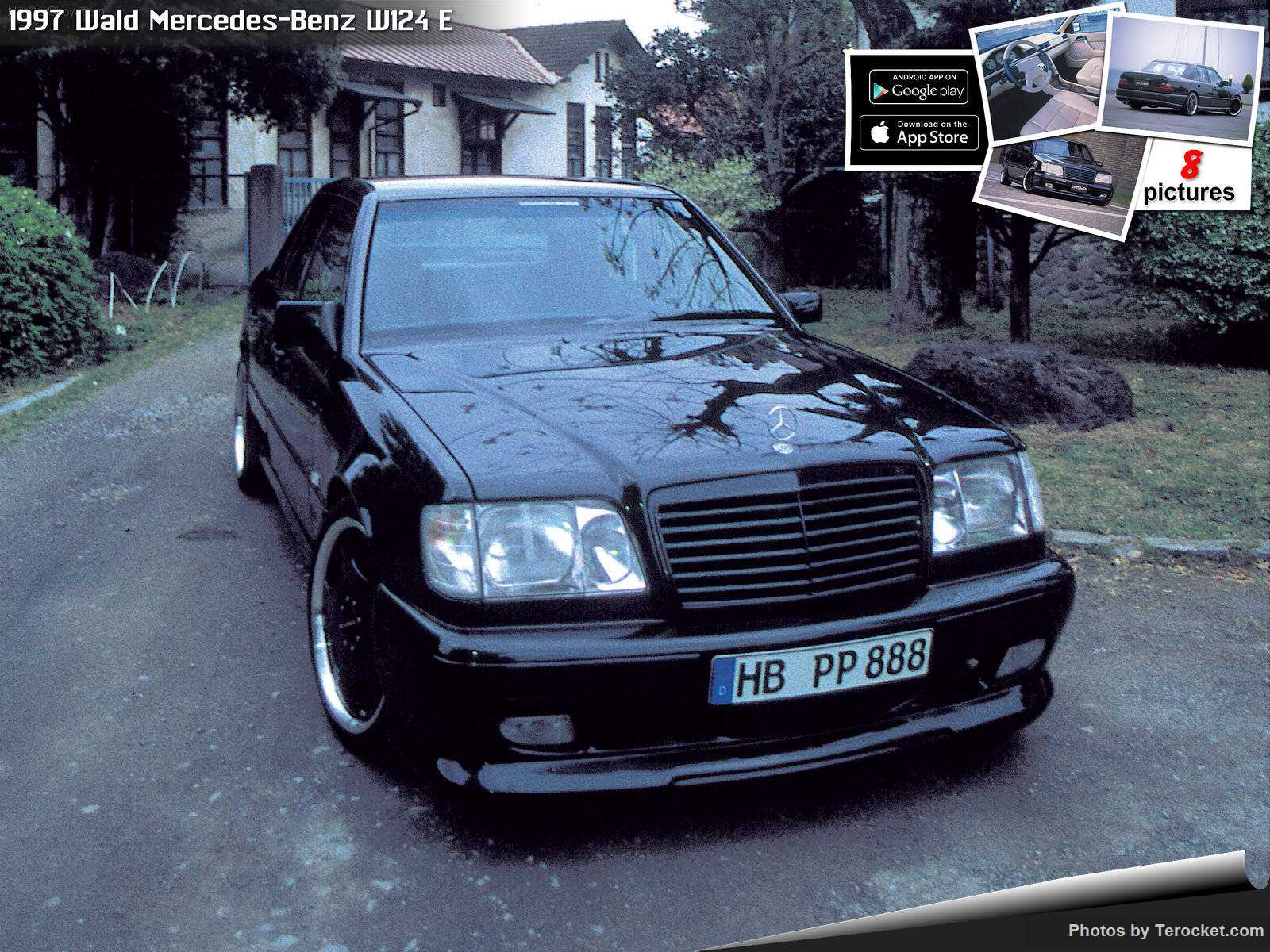 Hình ảnh xe độ Wald Mercedes-Benz W124 E 1997 & nội ngoại thất