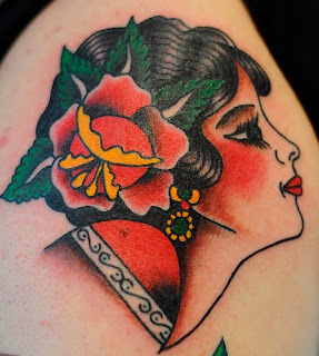 Gypsy Head Tattoo Photo Gallery - Gypsy Head Tattoo Ideas