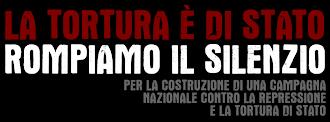 Appello per una campagna nazionale contro la repressione e la tortura di Stato