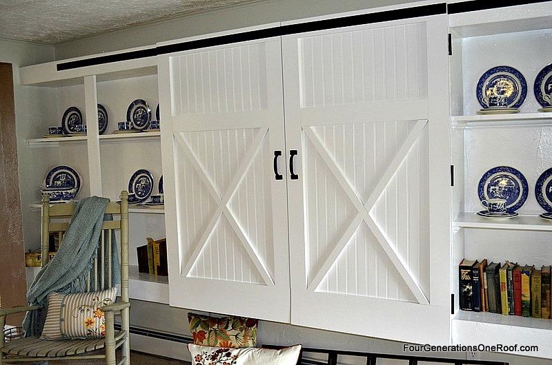 Hinged Barn Doors Closet Doorssimple Diy Door Tutorial Picture Of