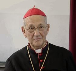 Sua Eminenza il Cardinale Sergio Sebastiani