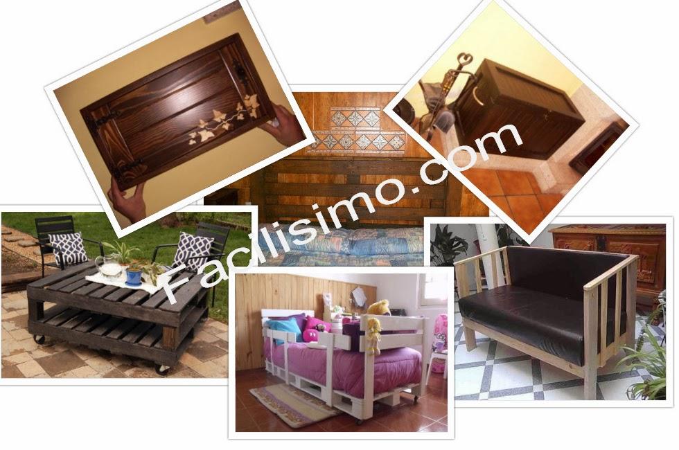 http://bricolaje.facilisimo.com/muebles-con-palets