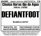 Todo A Ganador - San Isidro - 25/1 - Clásico Haras Ojo de Agua - A la caza de Defiantfoot