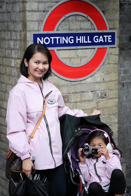 Notting Hill Station | London | Chichi Mary Kid's Boutique