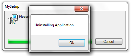 Uninstalling Application