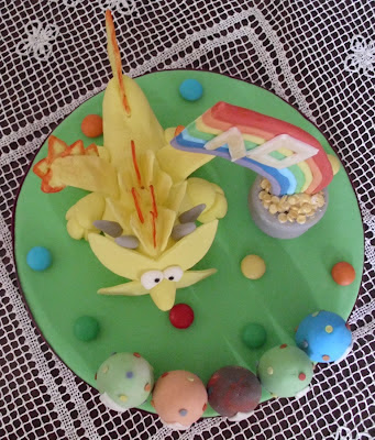 dragonvale cake topper