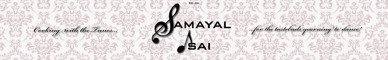Samayal Isai - Cooking with the Tunes