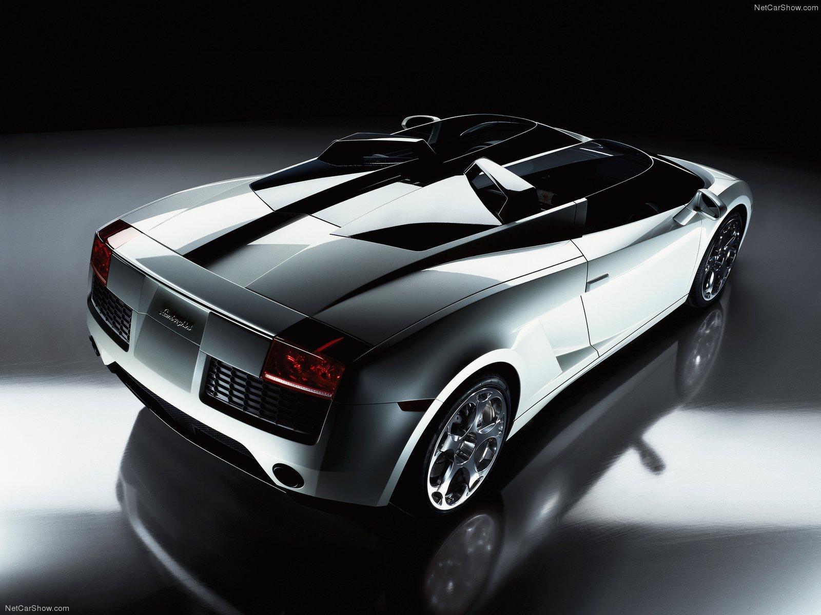 Hình ảnh siêu xe Lamborghini Concept S 2005 & nội ngoại thất