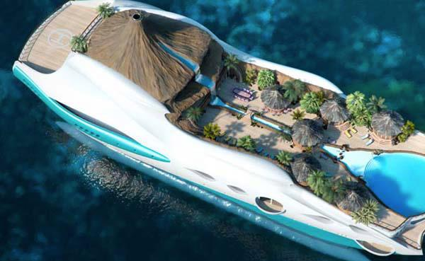 Fashion Affairs: Ulitimate Luxury: The Yacht Island!