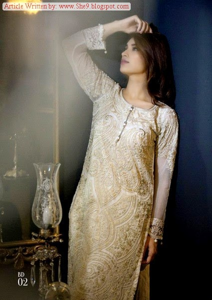 Maria-B Mbroidered Eid Collection 2014
