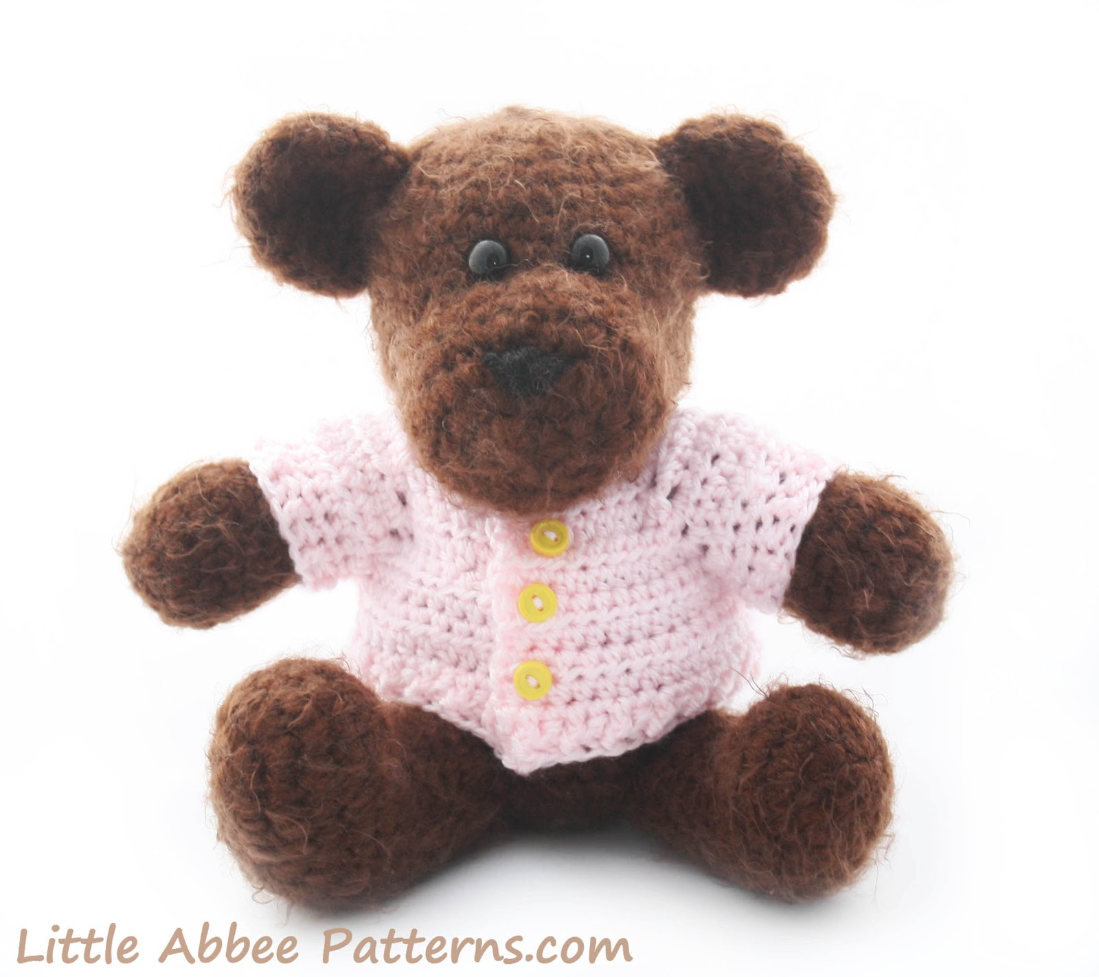 Teddy Bear and Sweater FREE Pattern