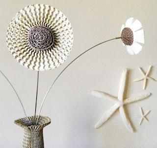Ideas para Hacer Flores Recicladas, Decoración Ecoresponsable