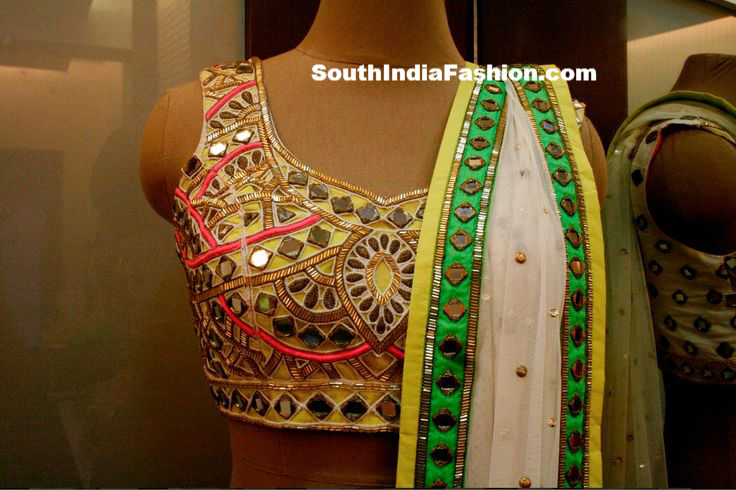 Mirror Work Blouses Online India 111