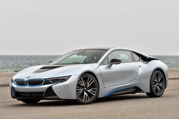 BMW i8, imágenes de coches