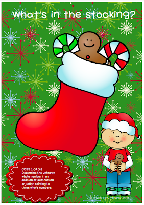 http://www.teacherspayteachers.com/Product/Whats-in-the-stocking-Math-FREEBIE-1009926