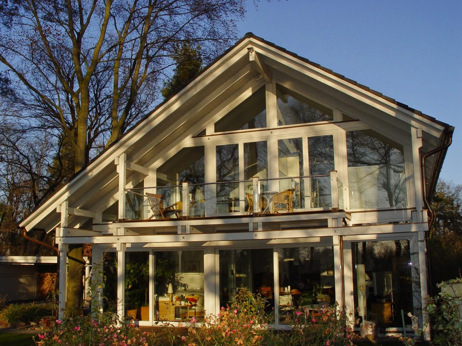 Holzskelettbauweise  Das Holzhaus in Holzskelettbauweise