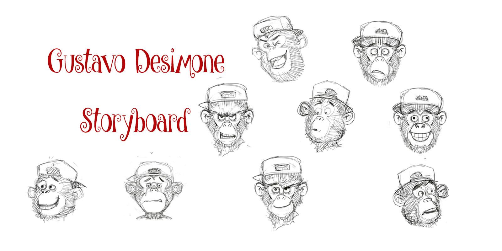 Gustavo Desimone Storyboard