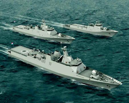 Kapal perang tentara nasional Indonesia_TNI
