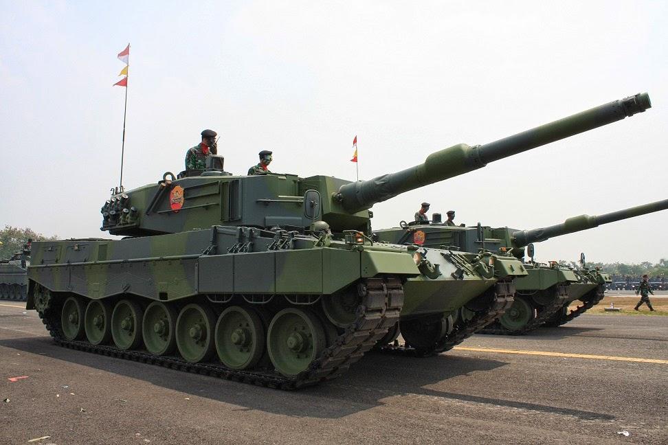 Siap-Siap MBT Leopard Dibangun Garasinya di Monas