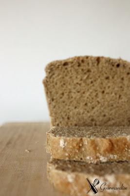 Gourmandise pão de centeio com fermento natural