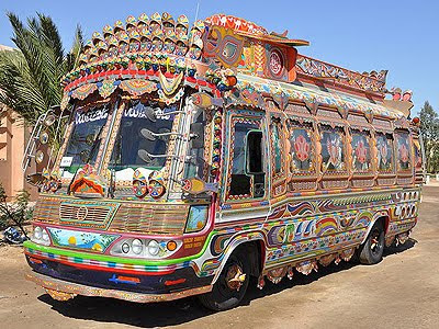 Pakistan's decorated buses