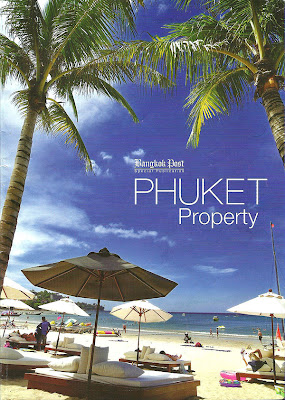 ปกหนังสือ Bangkok Post Special Publication ฉบับ Phuket Property