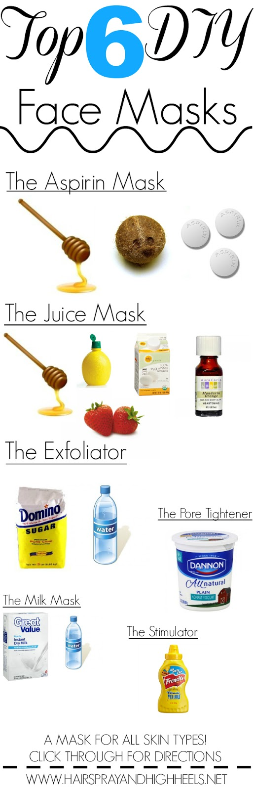 DIY Face Masks #Beauty #DIY #FaceMasks