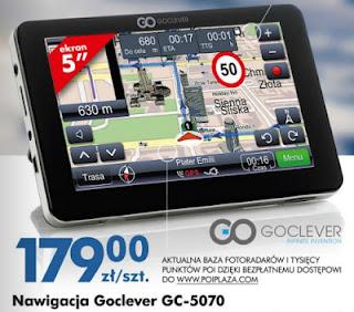 Nawigacja Goclever GC-5070 Biedronka