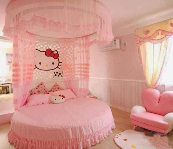 Cabeceras de Cama de Hello Kitty - Dormitorios para niñas ...