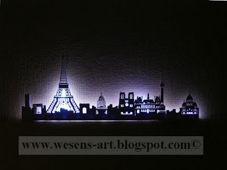 Paris Skyline Lamp 4    wesens-art.blogspot.com