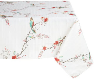 Lenox chirp tablecloth