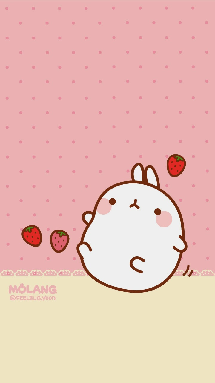 Wallpapers Para Tu Celular Molang Ley Worldkawaii