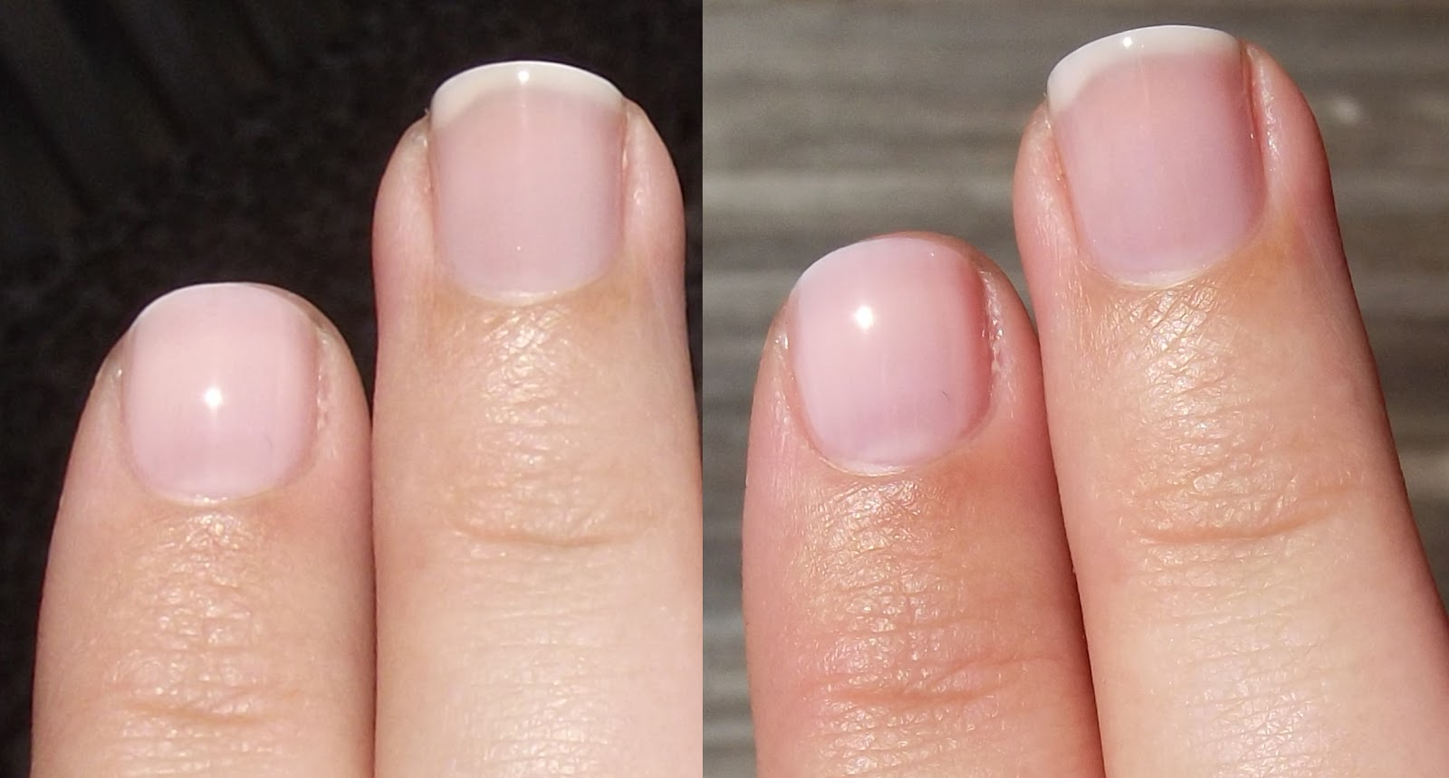 Nail Juice: Comparison: It\'s A Girl vs. In The Spotlight Pink