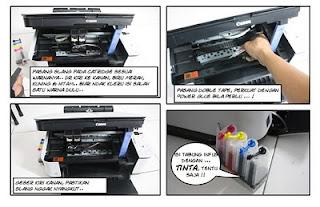 Cara Memasang Infus Printer Canon Mp 287