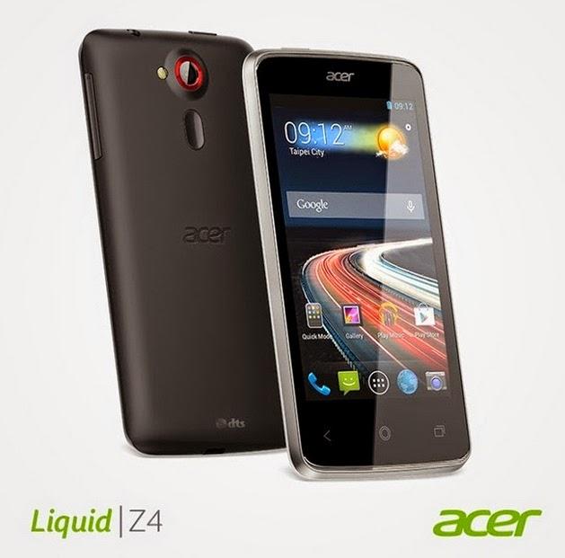 Harga dan Spesifikasi Acer Z160 Liquid Z4