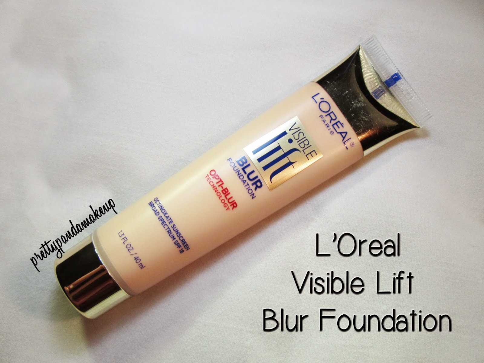 L'Oreal Visible Lift Blur Foundation in Light Ivory
