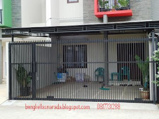 pintu gerbang minimalis