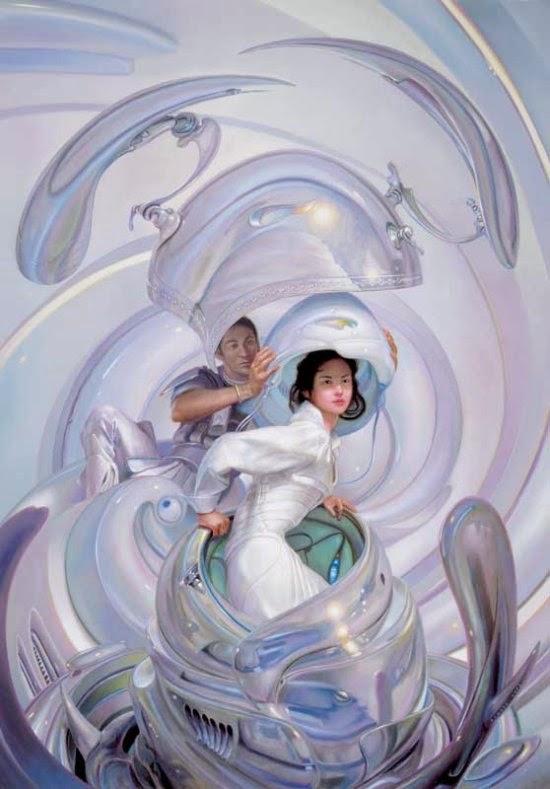 Donato Giancola deviantart ilustrações pinturas ficção científica vintage espacial